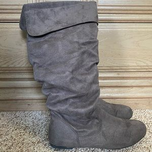 Grey Boots